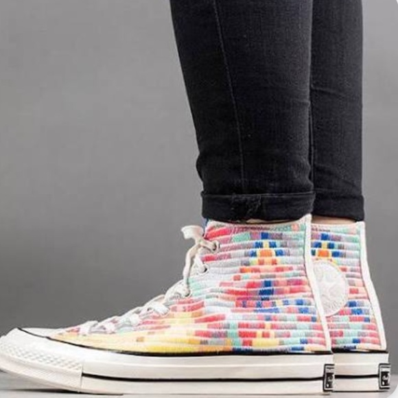 9faefaff0e04 Converse Shoes - Mara Hoffman + Chuck Taylor  70 embroidered shoes